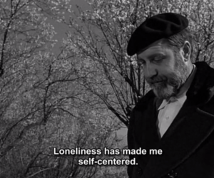loneliness, man, and subtitle image