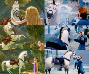 frozen, tangled, and flynn ryder image