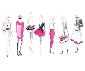 overlay, pink, and sketches image