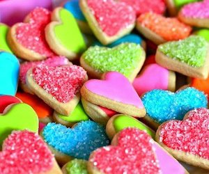 sweet, food, and heart image
