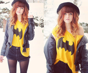 batman, fashion, and girl image