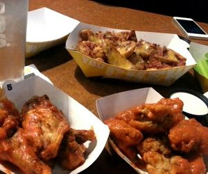 delicious, buffalowildwings, and bomb image
