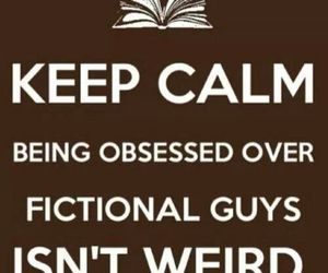 book, fictional, and keep calm image