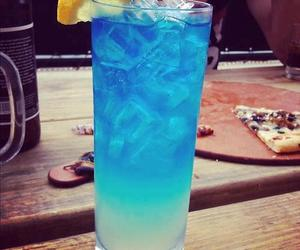 blue, drink, and ice image