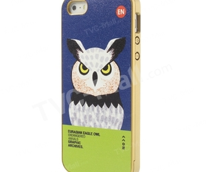 eagle owl, cute iphone case, and iphone 5 case image