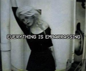 grunge, sky ferreira, and embarrassing image