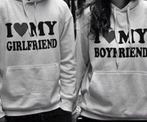 love, boyfriend, and girlfriend image