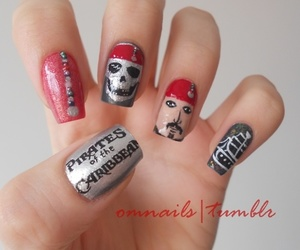 nails and pirates of the caribbean image