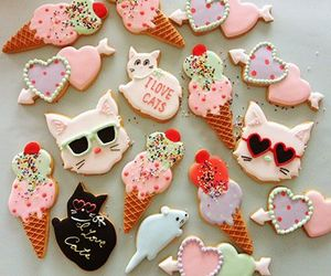 Cookies, yummy, and cat image