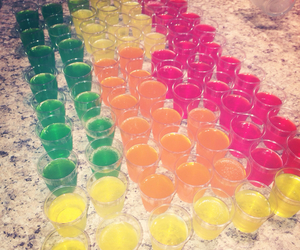 alcool, jello, and shooter image