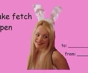 mean girls, valentines day, and fetch image