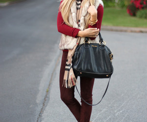 ankle boots, bag, and style image
