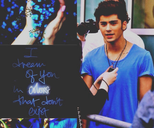 blue, zayn malik, and zayn image