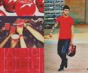 red, wellshitharry edits, and zayn malik image