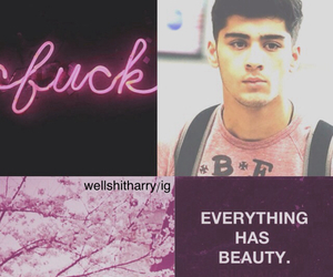 pink, wellshitharry edits, and zayn malik image