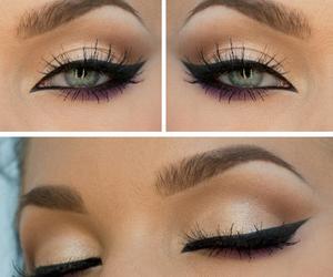 eye, eyeshadow, and lashes image