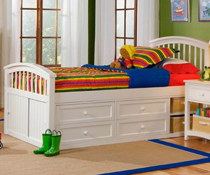 bedroom, child, and headboard image