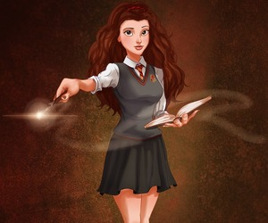 harry potter, disney, and belle image