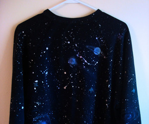 galaxy, stars, and sweater image