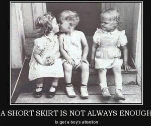 boy, funny, and skirt image