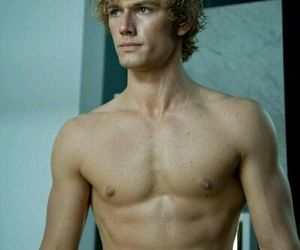 abs, alex pettyfer, and handsome image