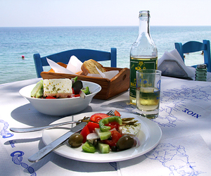 Greece, oxfam, and greek food image