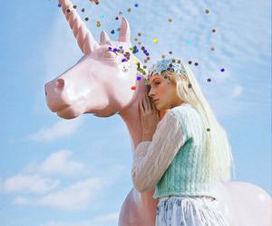 girl, yome, and unicorn image