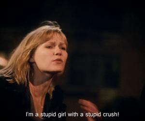 crush, girl, and stupid image