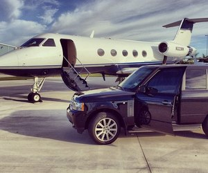 car, luxury, and airplane image