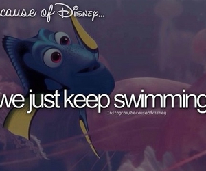 dory, because of disney, and disney image