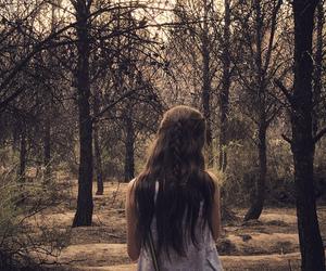 arboles, beautiful, and Chica image