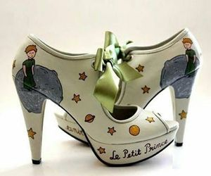 shoes, little prince, and heels image
