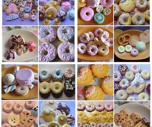 artisan, clay, and donuts image
