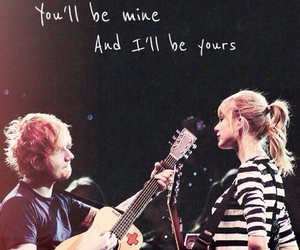 couple, lyric, and red image
