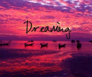 beautiful, pink, and dreaming image