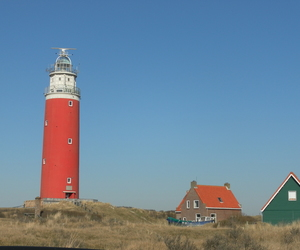lighthouse, netherlands, and texel image