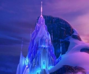 frozen, castle, and disney image