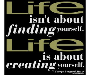 life, poster, and quotation image