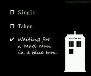 doctor who, tardis, and single image