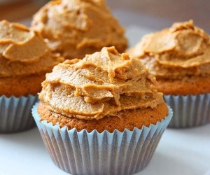 buttercream, coffee, and cupcakes image