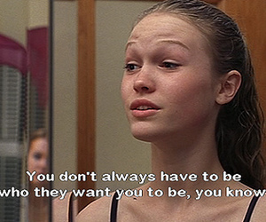 10 things i hate about you, girl, and Julia Stiles image