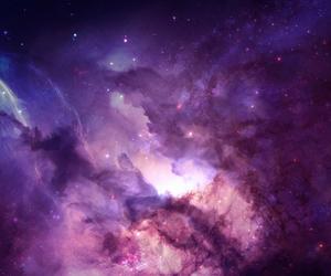 galaxy, pink, and purple image