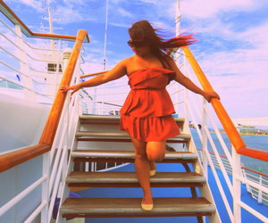 cruise, fashion, and outfit image