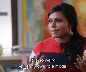 funny, role model, and the mindy project image