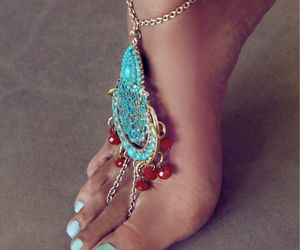 feet, nails, and jewelry image