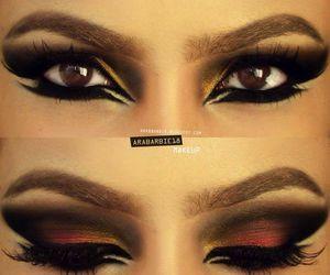 amazing and arabic eyeliner style image