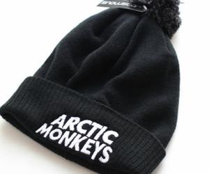 arctic monkeys, beanie, and hat image