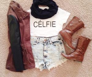 celine, paris, and clothes image