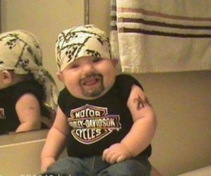 baby, funny, and lol image