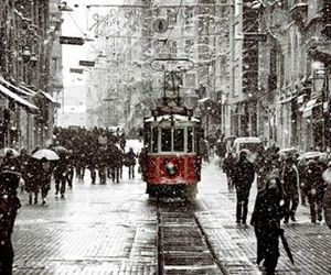istanbul, snow, and winter image